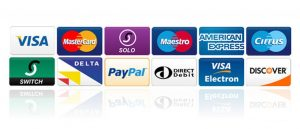 donate by using credit and debit cards